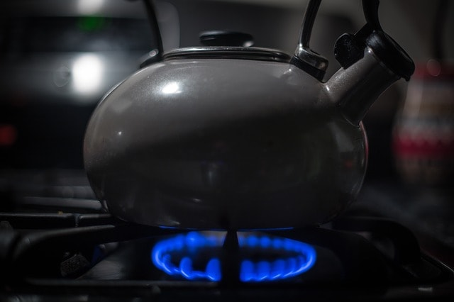 black stove top tea kettle