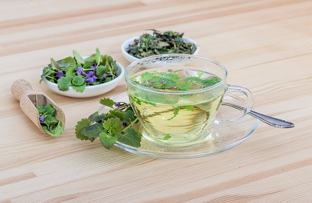 tea with herbs