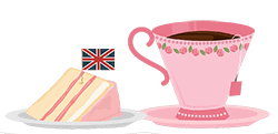 types of British tea