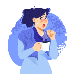 can tea cause coughing